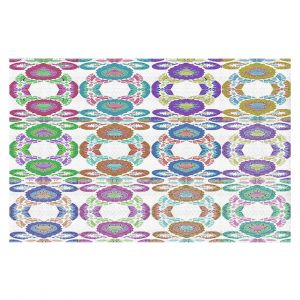 Decorative Floor Coverings | Susie Kunzelman - Gem Stone ll | Patterns Geometric