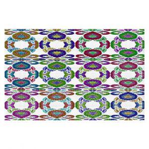 Decorative Floor Coverings   Susie Kunzelman - Gem Stone lll   Patterns Geometric