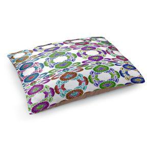 Decorative Dog Pet Beds | Susie Kunzelman - Gem Stone lll | Patterns Geometric