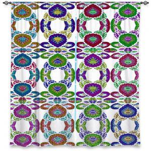 Decorative Window Treatments | Susie Kunzelman - Gem Stone lll | Patterns Geometric