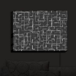 Nightlight Sconce Canvas Light   Susie Kunzelman - Geometrics Drizzle