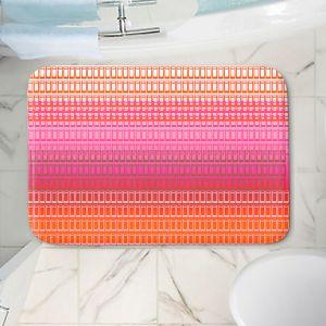 Decorative Bathroom Mats | Susie Kunzelman - Geo Squared 1 | Geometric pattern