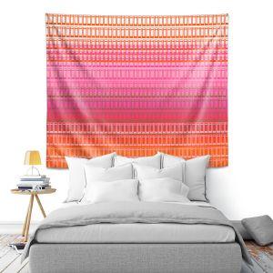 Artistic Wall Tapestry | Susie Kunzelman - Geo Squared 1 | Geometric pattern