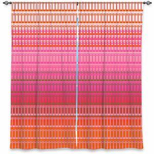 Decorative Window Treatments | Susie Kunzelman - Geo Squared 1 | Geometric pattern