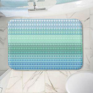 Decorative Bathroom Mats | Susie Kunzelman - Geo Squared 2 | Geometric pattern