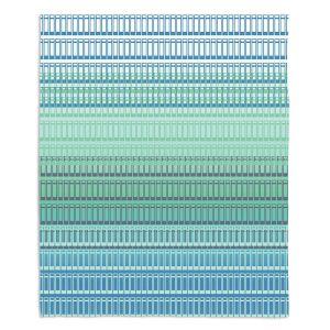 Decorative Fleece Throw Blankets | Susie Kunzelman - Geo Squared 2 | Geometric pattern