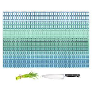 Artistic Kitchen Bar Cutting Boards   Susie Kunzelman - Geo Squared 2   Geometric pattern