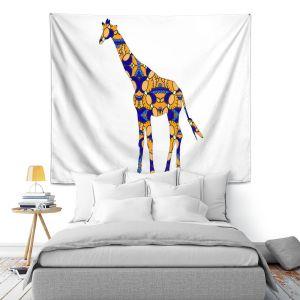 Artistic Wall Tapestry | Susie Kunzelman Giraffe II