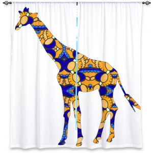 Decorative Window Treatments | Susie Kunzelman Giraffe II