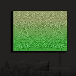 Nightlight Sconce Canvas Light | Susie Kunzelman - Grandmas Lace Online Lime