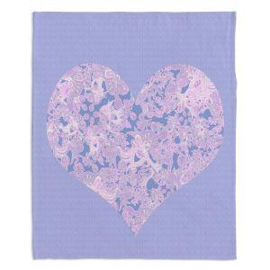Artistic Sherpa Pile Blankets | Susie Kunzelman - Heart Love Serenity