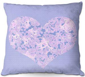 Throw Pillows Decorative Artistic | Susie Kunzelman - Heart Love Serenity