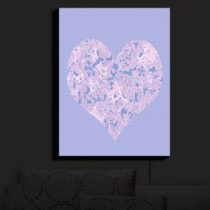 Nightlight Sconce Canvas Light | Susie Kunzelman - Heart Love Serenity | Shapes Femenine