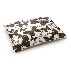 Decorative Dog Pet Beds   Susie Kunzelman - Inspirational Butterfly   insect nature beauty support
