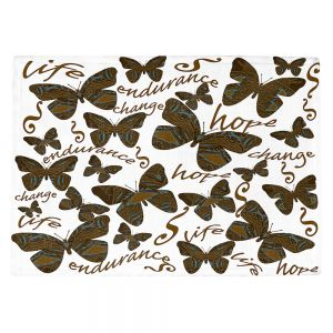 Countertop Place Mats | Susie Kunzelman - Inspirational Butterfly | insect nature beauty support
