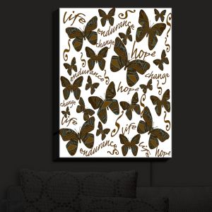 Nightlight Sconce Canvas Light | Susie Kunzelman - Inspirational Butterfly