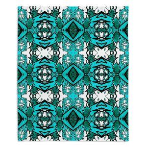 Decorative Fleece Throw Blankets | Susie Kunzelman - Kaleidoscope