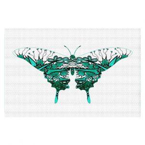 Decorative Floor Coverings | Susie Kunzelman - Kaleidoscope Butterfly