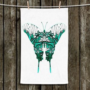 Unique Hanging Tea Towels | Susie Kunzelman - Kaleidoscope Butterfly | Shapes Femenine