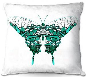 Decorative Outdoor Patio Pillow Cushion | Susie Kunzelman - Kaleidoscope Butterfly
