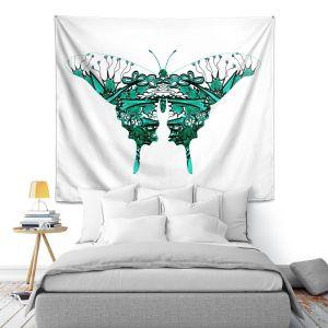 Artistic Wall Tapestry | Susie Kunzelman - Kaleidoscope Butterfly