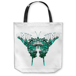 Unique Shoulder Bag Tote Bags | Susie Kunzelman - Kaleidoscope Butterfly