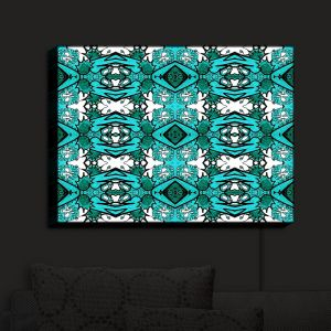 Nightlight Sconce Canvas Light | Susie Kunzelman - Kaleidoscope | Patterns Colorful