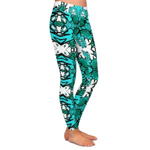 Casual Comfortable Leggings | Susie Kunzelman - Kaleidoscope
