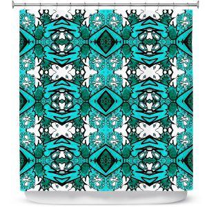 Premium Shower Curtains   Susie Kunzelman - Kaleidoscope