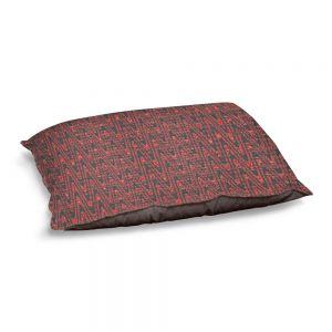 Decorative Dog Pet Beds | Susie Kunzelman - Magic Carpet Ride | Colorful abstract pattern