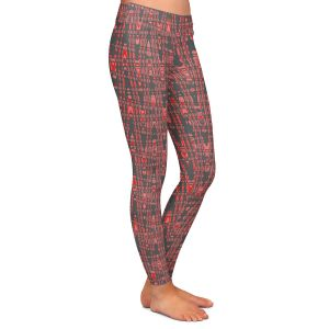 Casual Comfortable Leggings | Susie Kunzelman - Magic Carpet Ride | Colorful abstract pattern