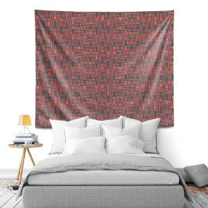 Artistic Wall Tapestry | Susie Kunzelman - Magic Carpet Ride | Colorful abstract pattern