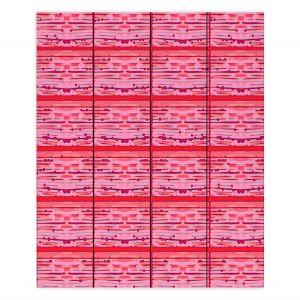 Decorative Wood Plank Wall Art | Susie Kunzelman - Maze | abstract pattern