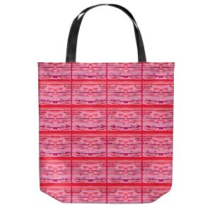 Unique Shoulder Bag Tote Bags | Susie Kunzelman - Maze | abstract pattern