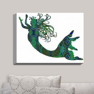 Decorative Canvas Wall Art | Susie Kunzelman - Mermaid Forest