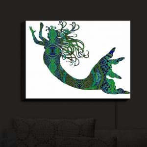 Nightlight Sconce Canvas Light | Susie Kunzelman's Mermaid Forest