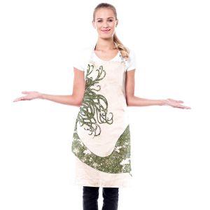 Artistic Bakers Aprons | Susie Kunzelman - Mermaid Green | Mermaids Fantasy Magical Childlike