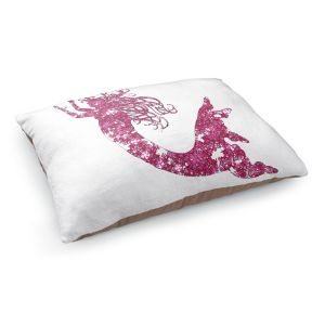 Decorative Dog Pet Beds | Susie Kunzelman's Mermaid Pink