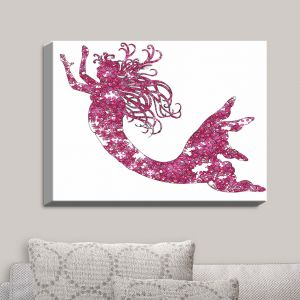 Decorative Canvas Wall Art | Susie Kunzelman - Mermaid Pink