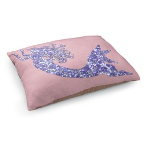 Decorative Dog Pet Beds | Susie Kunzelman - Mermaid Rose Quartz