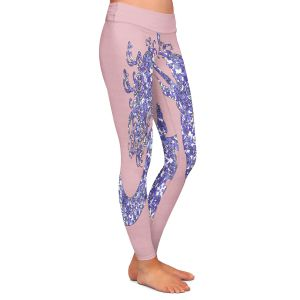 Casual Comfortable Leggings | Susie Kunzelman - Mermaid Rose Quartz