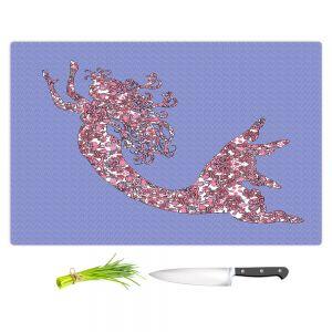 Artistic Kitchen Bar Cutting Boards | Susie Kunzelman - Mermaid Serenity