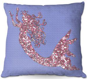 Throw Pillows Decorative Artistic | Susie Kunzelman - Mermaid Serenity