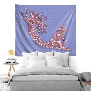 Artistic Wall Tapestry | Susie Kunzelman - Mermaid Serenity