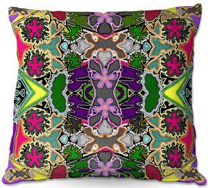 Throw Pillows Decorative Artistic | Susie Kunzelman - Merry Go Round l