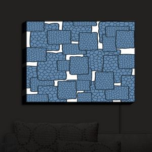 Nightlight Sconce Canvas Light | Susie Kunzelman - Mid Century Modern H2O