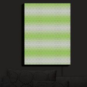 Nightlight Sconce Canvas Light | Susie Kunzelman - North East 1 Soft Lime