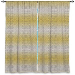 Decorative Window Treatments | Susie Kunzelman - North East 1 Spicy Mustard | Stripe pattern