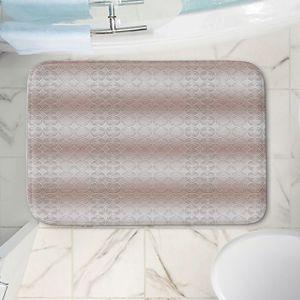 Decorative Bathroom Mats   Susie Kunzelman - North East 1 Tan   Stripe pattern