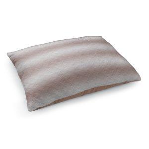 Decorative Dog Pet Beds | Susie Kunzelman - North East 1 Tan | Stripe pattern